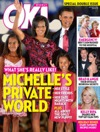 First picture is the cover of OK magazine which shows the Obama family.