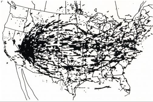 Map, Actual Fallout