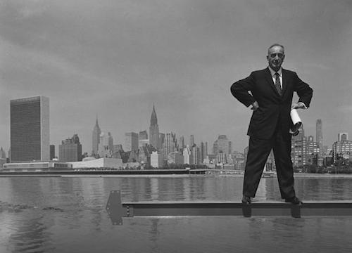 Arnold Newman, Robert Moses portrait