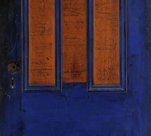 Frank Shay Bookshop Door