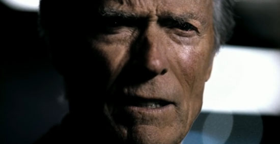 Clint Eastwood in Chrysler Super Bowl commercial