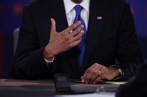 Obama's pink bracelet