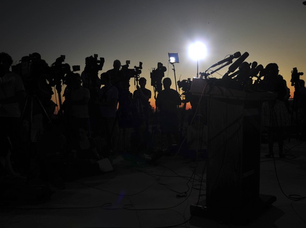 media at Fort Hood
