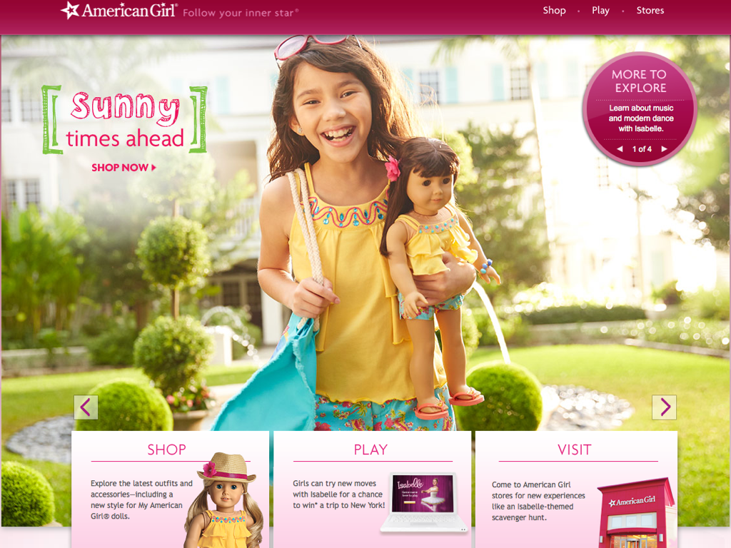 American Girl Site